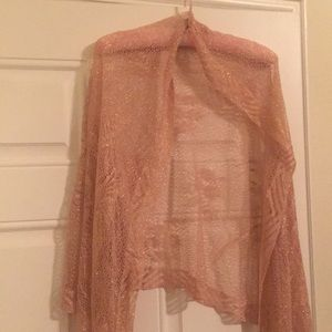 Other - Pink and gold shawl